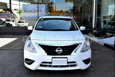 Foto Nissan Versa 4p Sense L4/1.6 Man usado (2017) color Blanco precio $160,000