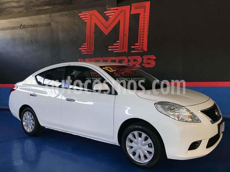 Nissan Versa Sense Aut usado (2012) color Blanco precio $122,000