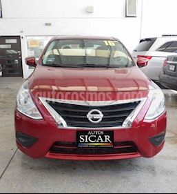 Nissan Versa Sense Aut usado (2016) color Rojo precio $149,000