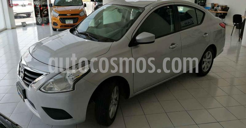 Nissan Versa 4p Sense L4/1.6 Aut usado (2019) color Plata precio $169,900