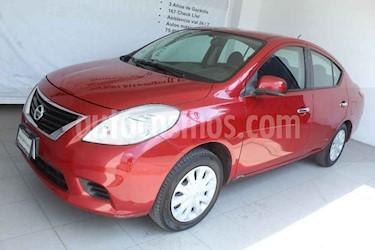 Nissan Versa 4p Sense L4/1.6 Man usado (2014) color Rojo precio $119,000