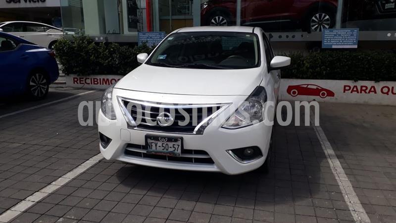 Foto Nissan Versa Advance usado (2019) color Blanco precio $210,000