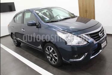 Foto Nissan Versa Exclusive Aut usado (2016) color Azul precio $185,000