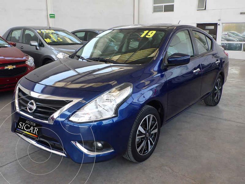 Foto Nissan Versa Exclusive Aut usado (2019) color Azul precio $229,000