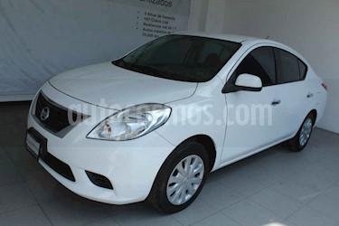 Nissan Versa 4p Sense L4/1.6 Man usado (2014) color Blanco precio $129,000