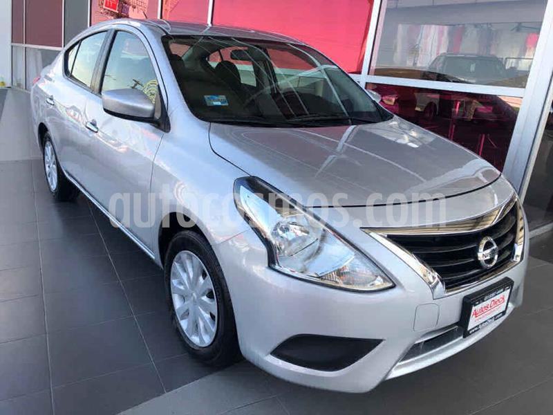 Nissan Versa Sense Aut usado (2018) color Plata precio $169,000