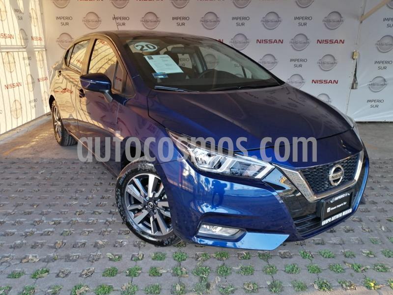 Nissan Versa Advance Aut usado (2020) color Azul precio $270,000