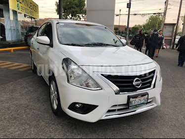 Nissan Versa Advance Aut usado (2017) color Blanco precio $175,000