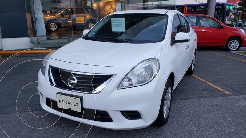 Nissan Versa Sense Aut  usado (2013) color Blanco precio $130,000