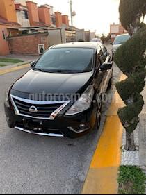 Nissan Versa Advance usado (2016) color Negro precio $137,000