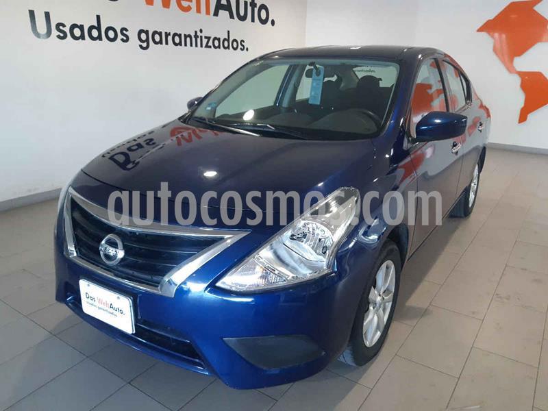 Foto Nissan Versa Sense Aut usado (2019) color Azul precio $189,900