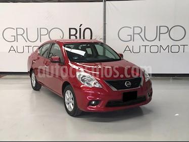 Nissan Versa Advance Aut  usado (2014) color Rojo precio $129,000
