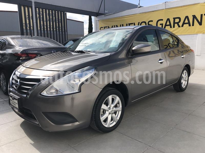 Nissan Versa Sense usado (2019) color Marron precio $189,000