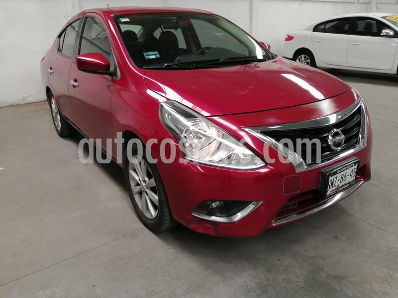 Nissan Versa Advance Aut usado (2015) color Rojo precio $150,000