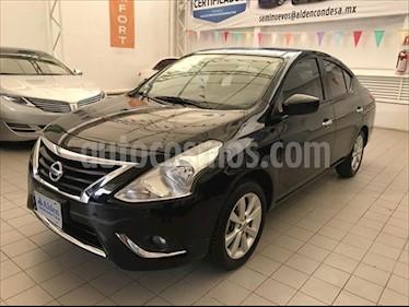 Nissan Versa ADVANCE MT 1.6L usado (2017) color Negro precio $172,000