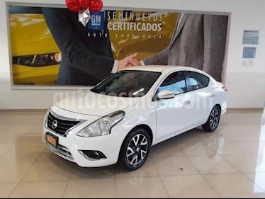Nissan Versa 4p Exclusive L4/1.6 Aut usado (2015) color Blanco precio $173,900