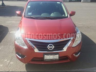 Nissan Versa Advance Aut usado (2019) color Rojo precio $232,000
