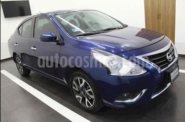 Foto Nissan Versa Exclusive Aut usado (2018) color Azul precio $235,000