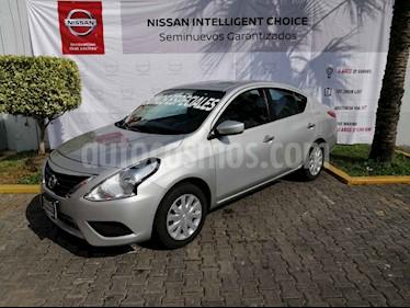 Foto Nissan Versa Sense Aut usado (2018) color Plata precio $190,000