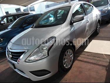 Nissan Versa Sense Aut usado (2016) color Plata precio $155,000