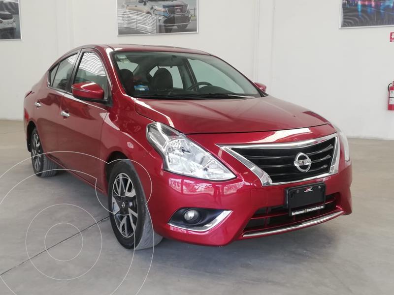 Nissan Versa Exclusive Aut usado (2018) color Rojo precio $190,000