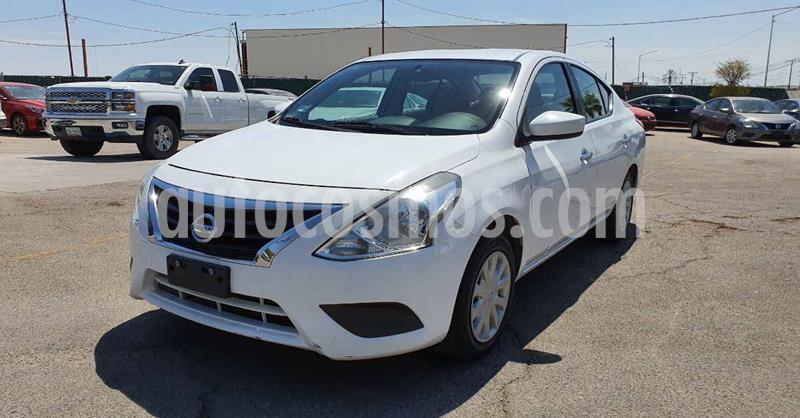Nissan Versa Sense Aut usado (2018) color Blanco precio $144,900