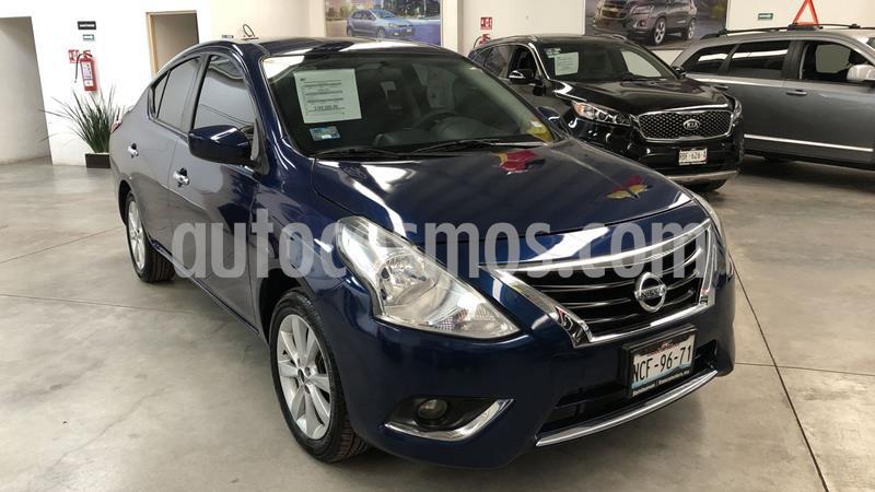 Nissan Versa Advance usado (2018) color Azul precio $179,000