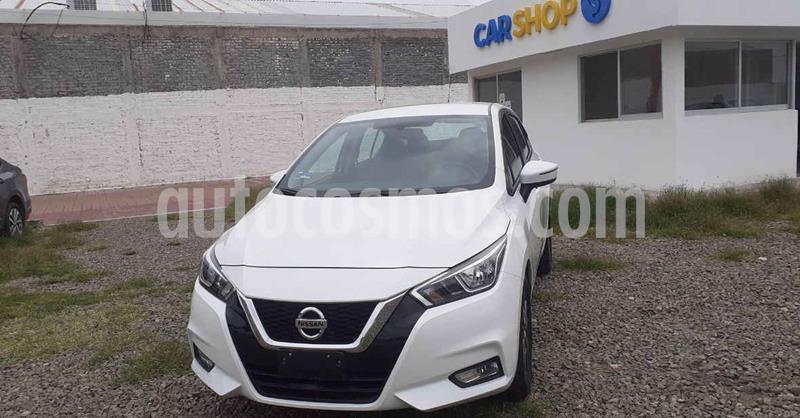 Nissan Versa Advance Aut usado (2020) color Blanco precio $247,900