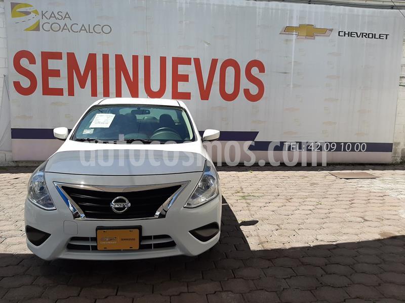 Foto Nissan Versa Sense Aut usado (2019) color Blanco precio $220,000