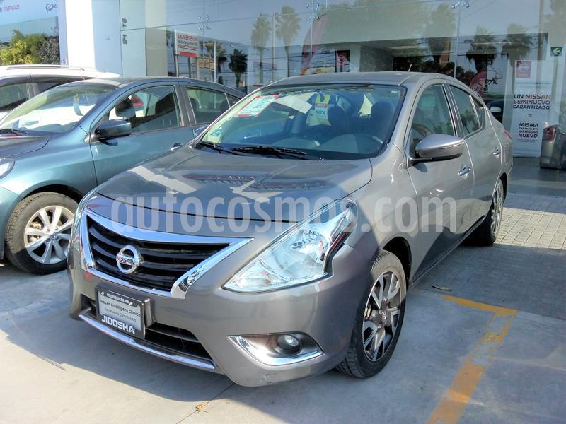 Nissan Versa Exclusive NAVI Aut usado (2018) color Naranja precio $245,900
