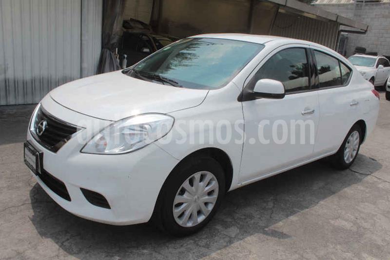 Nissan Versa Sense Aut usado (2014) color Blanco precio $129,000