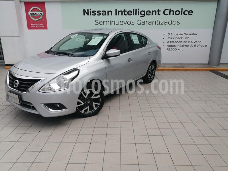 Nissan Versa Advance usado (2019) color Gris precio $229,000