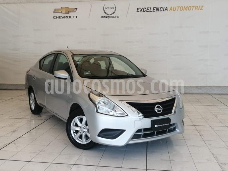Nissan Versa Sense Aut usado (2019) color Plata precio $190,000