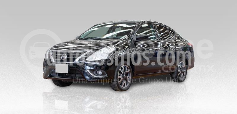 Nissan Versa Advance usado (2019) color Negro precio $203,000