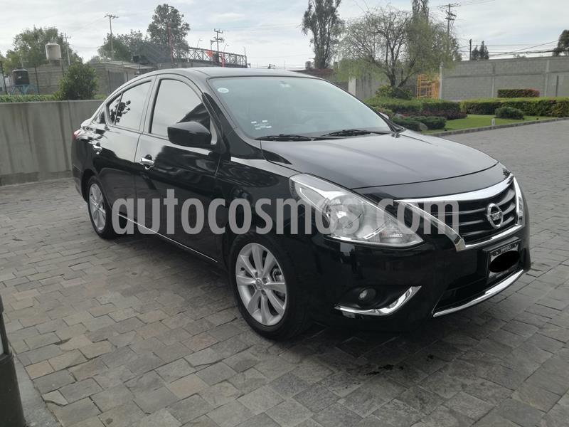 Nissan Versa Advance usado (2016) color Negro precio $130,000