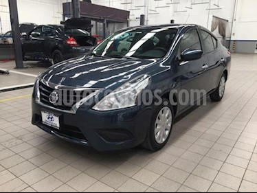 Nissan Versa Sense usado (2015) color Azul precio $132,000