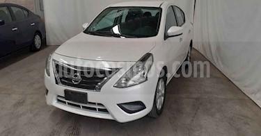 Nissan Versa 4p Advance L4/1.6 Aut usado (2019) color Blanco precio $189,900