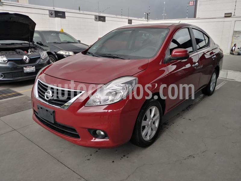 Nissan Versa Advance usado (2018) color Rojo precio $135,000