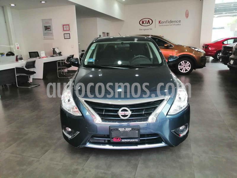 Nissan Versa Advance Aut usado (2017) color Azul precio $169,000