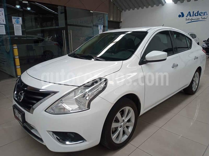 Nissan Versa Advance Aut usado (2017) color Blanco precio $165,000