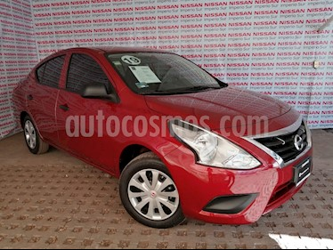 Nissan Versa Drive A/A usado (2019) color Rojo precio $175,000