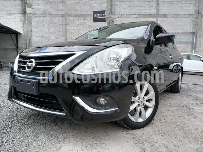 Nissan Versa Advance usado (2016) color Negro precio $138,000