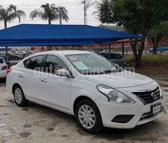 Nissan Versa Sense Aut usado (2018) color Blanco precio $172,000