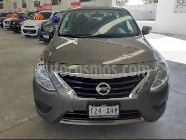 Nissan Versa Sense Aut usado (2016) color Gris precio $179,000