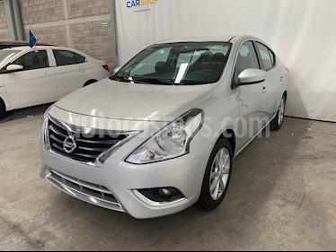 Nissan Versa 4p Advance L4/1.6 Aut usado (2018) color Plata precio $164,900