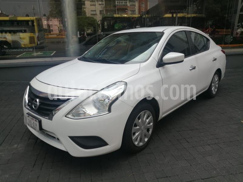 Nissan Versa Sense Aut usado (2015) color Blanco precio $138,000