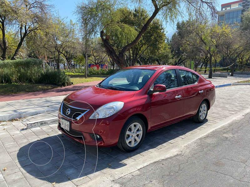 Nissan Versa Advance Aut usado (2012) color Rojo precio $149,900