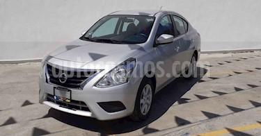 Nissan Versa 4p Sense L4/1.6 Aut usado (2019) color Plata precio $164,800