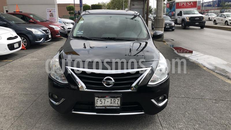 Nissan Versa Exclusive Aut usado (2018) color Negro precio $199,000