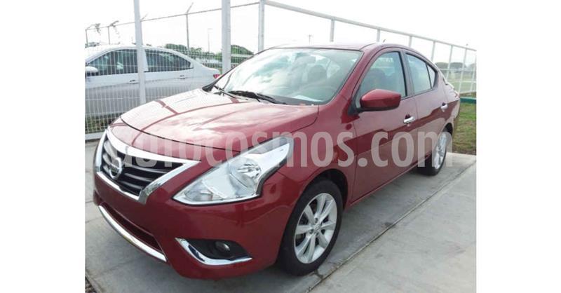 Nissan Versa Advance Aut usado (2018) color Rojo precio $149,900